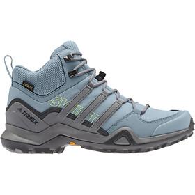 47fc7e00821 adidas TERREX Swift R2 Mid GTX Schoenen Dames grijs/blauw